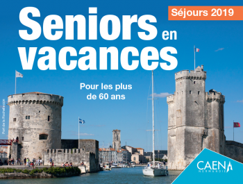 affiche du dispositif Seniors en vacances