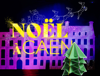 visuel Noël à Caen 2020