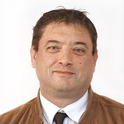 Portrait de Dominique DUVAL délégué du quartier Chemin-Vert