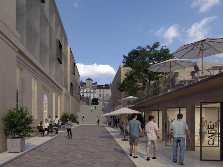 Perspective Palais Fontette